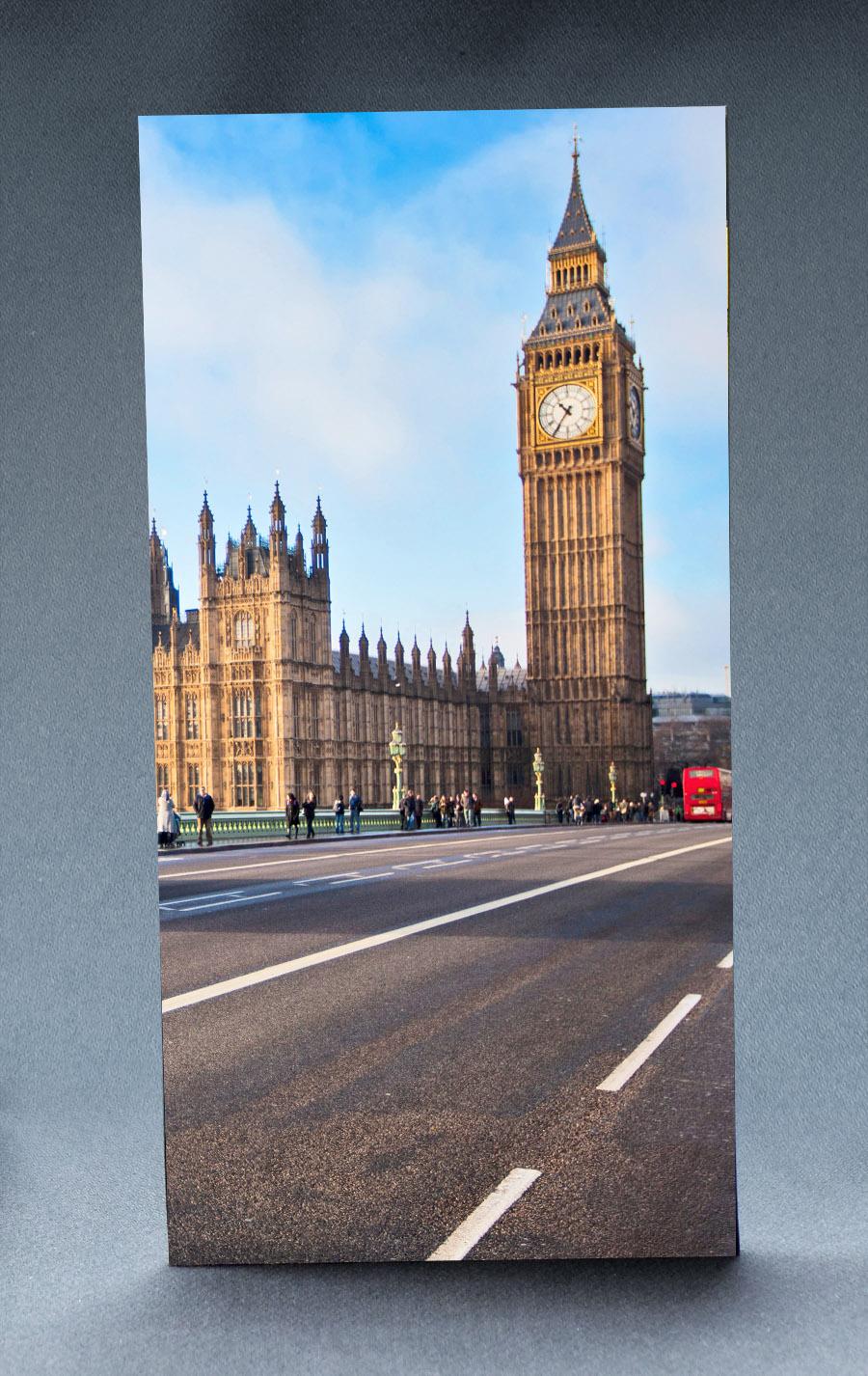 London Street 1:6 Scale Striking Backdrop