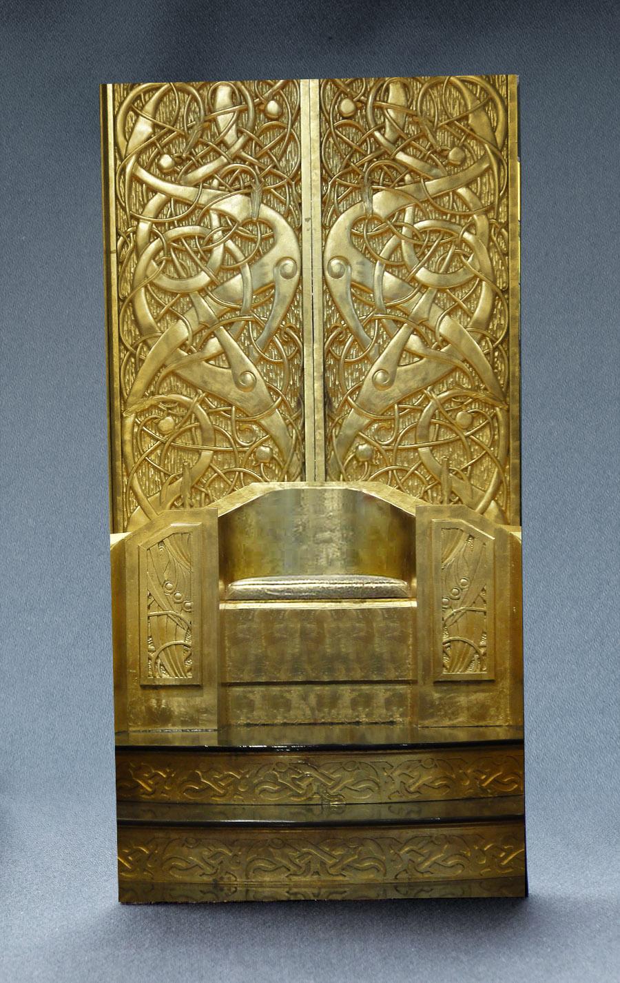 Golden Throne 1:6 Scale Striking Backdrop