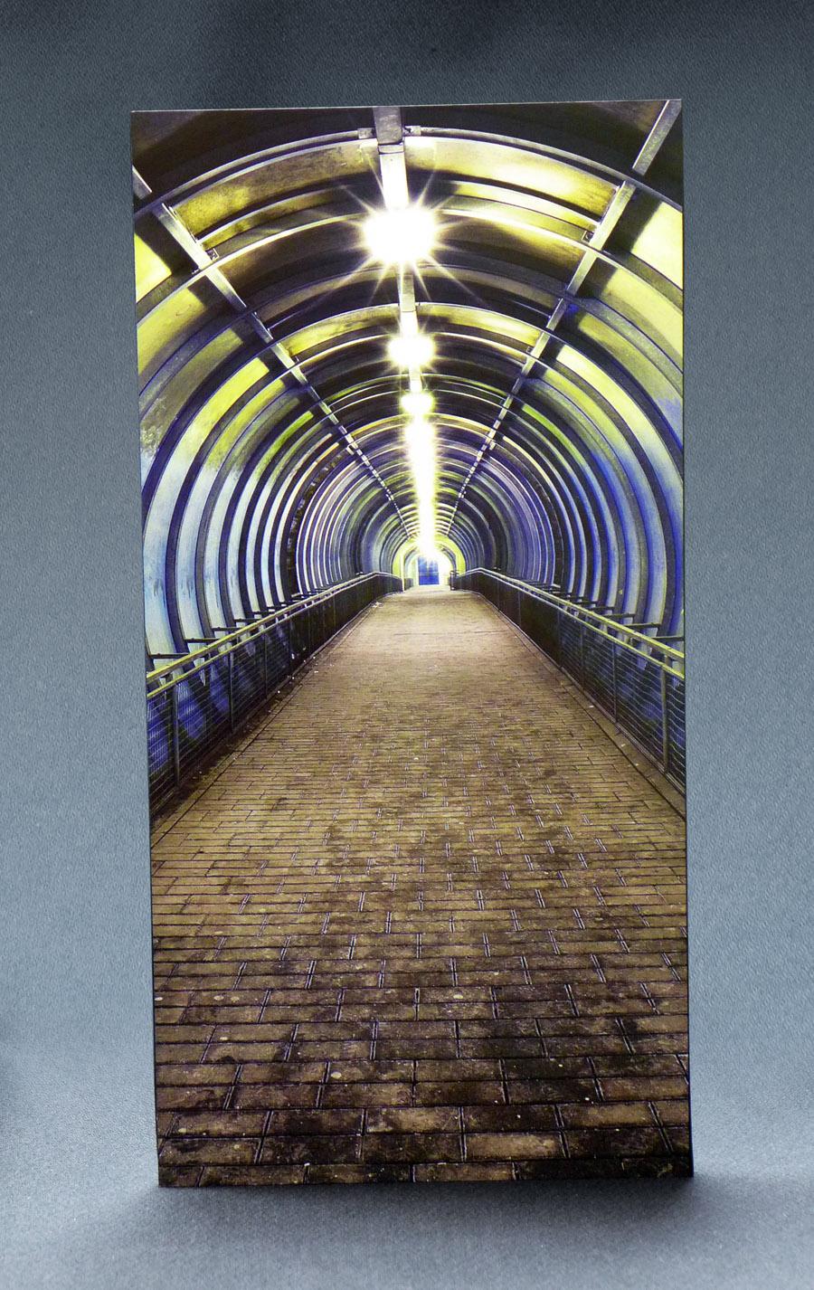Spaceport Tunnel 1:6 Scale Striking Backdrop