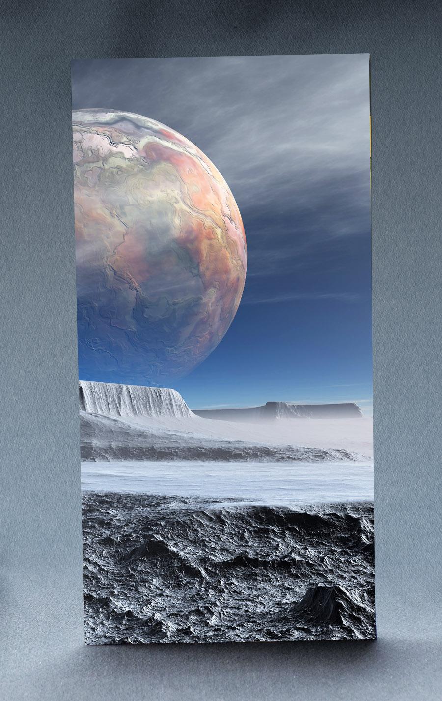 Alien Planet 1:6 Scale Striking Backdrop