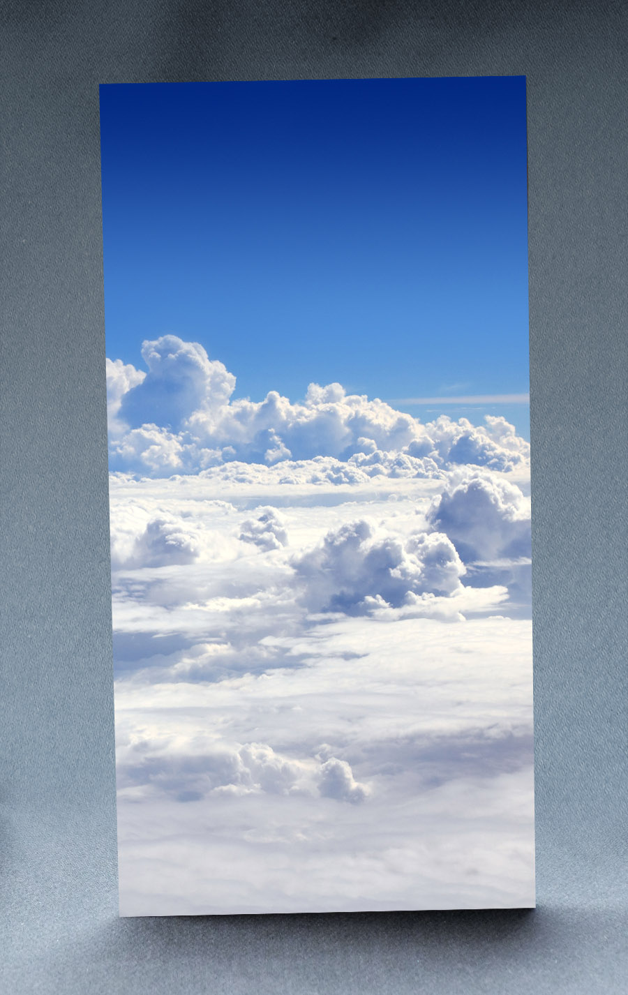 Cloudy Sky 1:6 Scale Striking Backdrop