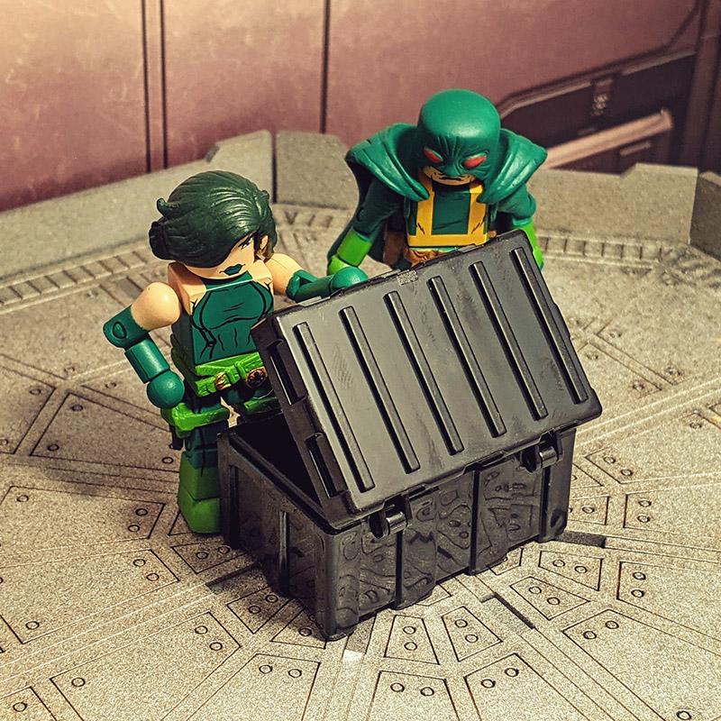 Black Equipment Crate