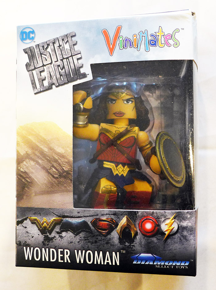 Justice League Wonder Woman Vinimate Vinyl Figure