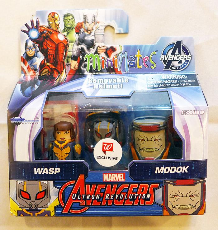 Wasp & MODOK Walgreens Animated Marvel Minimates