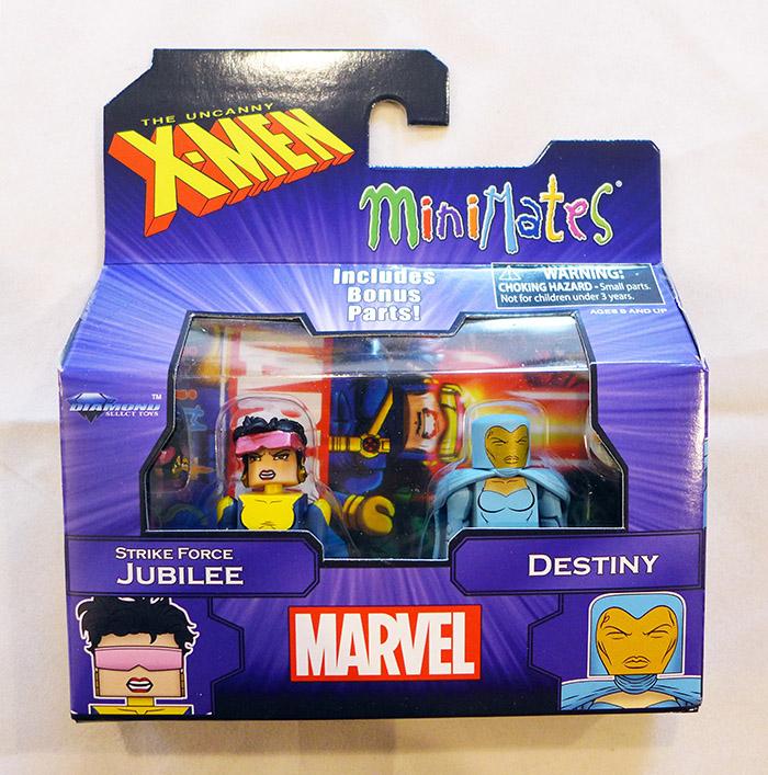 Jubilee & Destiny Marvel Minimates