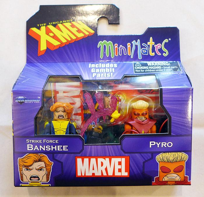 Banshee & Pyro Marvel Minimates
