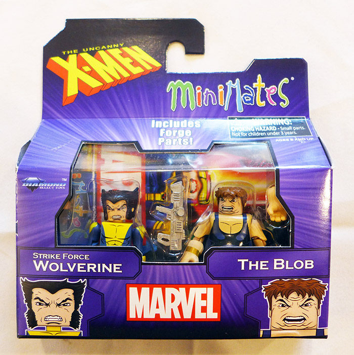 Wolverine & The Blob Marvel Minimates
