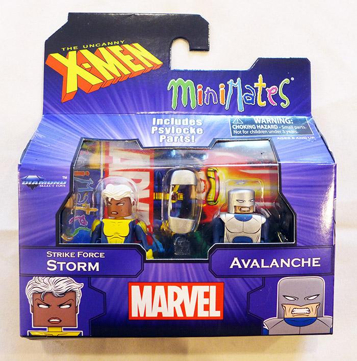 Storm & Avalanche Marvel Minimates