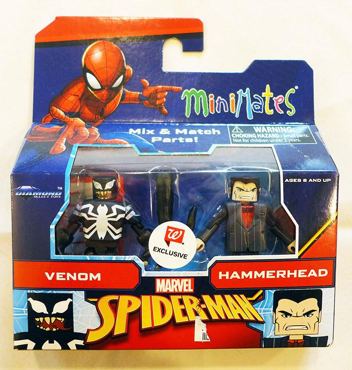 Venom & Hammerhead Walgreens Animated Marvel Minimates