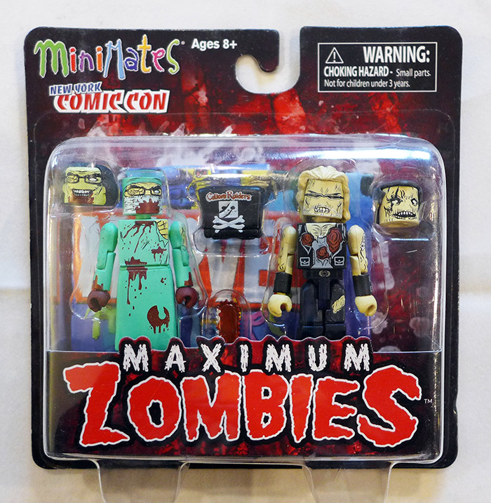 NYCC Maximum Zombies Minimates 2-Pack