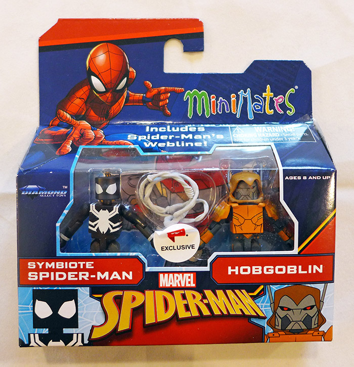 Symbiote Spider-Man & Hobgoblin Walgreens Animated Marvel Minimates