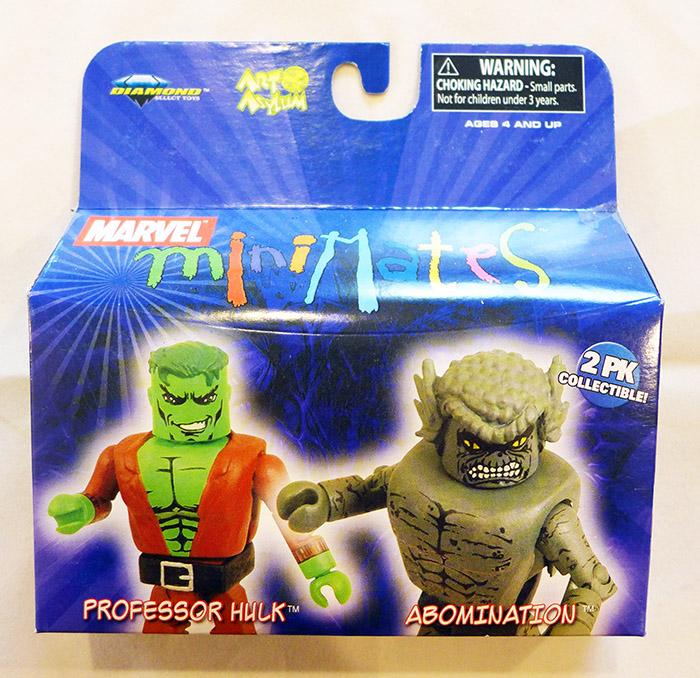 Professor Hulk & Abomination Marvel Minimates