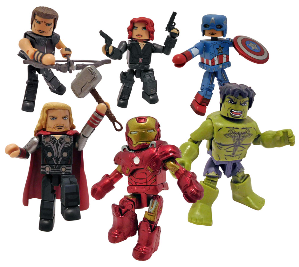 SDCC 2021 Marvel Minimates Commemorative Collection Gift Set
