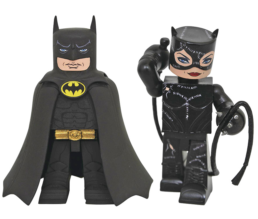 Batman Returns Batman & Catwoman Vinimate Vinyl Figure 2-Pack