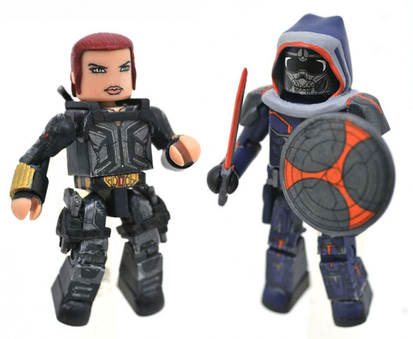 Black Widow & Taskmaster Walgreens Marvel Minimates