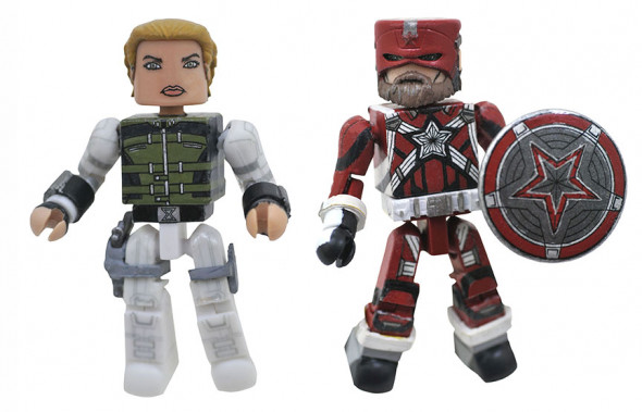 Yelena & Red Guardian Walgreens Black Widow Minimates
