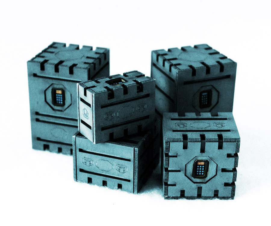 Last One: Security Crates Set of 5 (Blue)