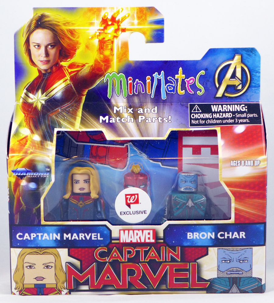 Captain Marvel & Bron Char Walgreen's Exclusive Marvel Minimates