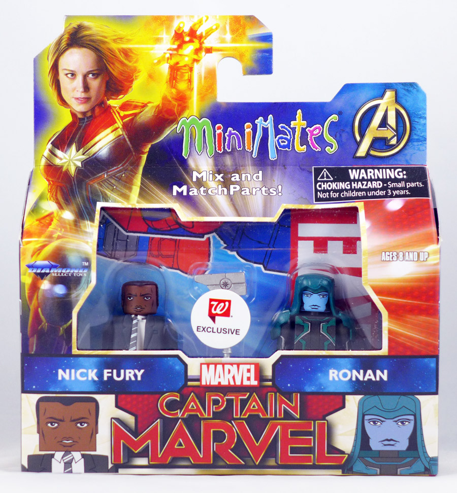 Nick Fury & Ronan Walgreen's Exclusive Marvel Minimates