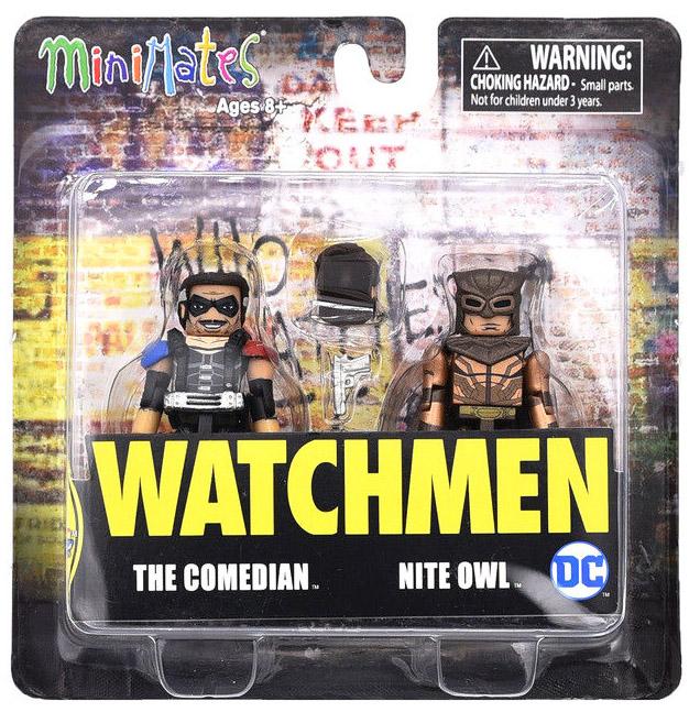 Comedian & Nite Owl TRU Exclusive Watchmen Minimates