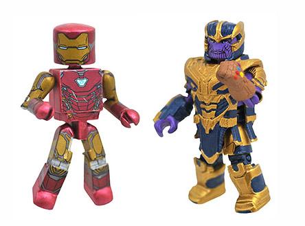 Avengers Endgame Iron Man & Thanos Walgreens Minimates