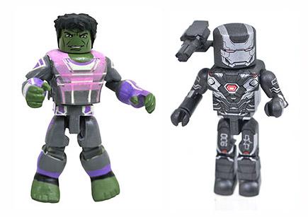 Avengers Endgame Hulk & War Machine Walgreens Minimates