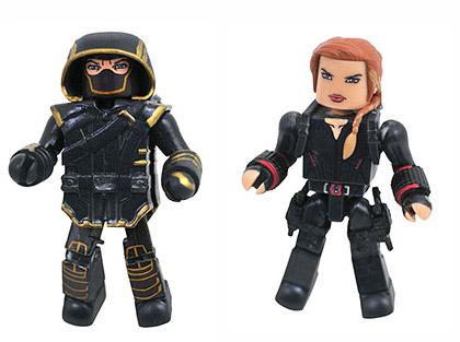 Avengers Endgame Ronin & Black Widow Walgreens Minimates