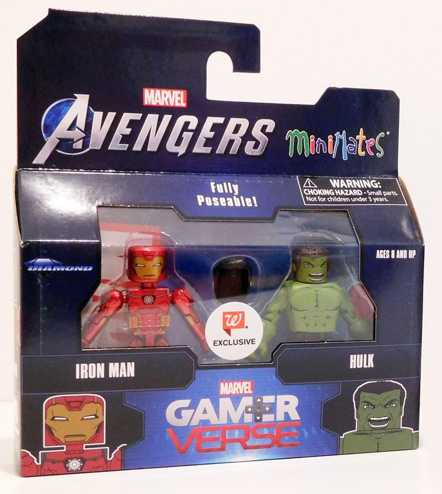 Iron Man & Hulk Gamerverse Walgreens Avengers Minimates