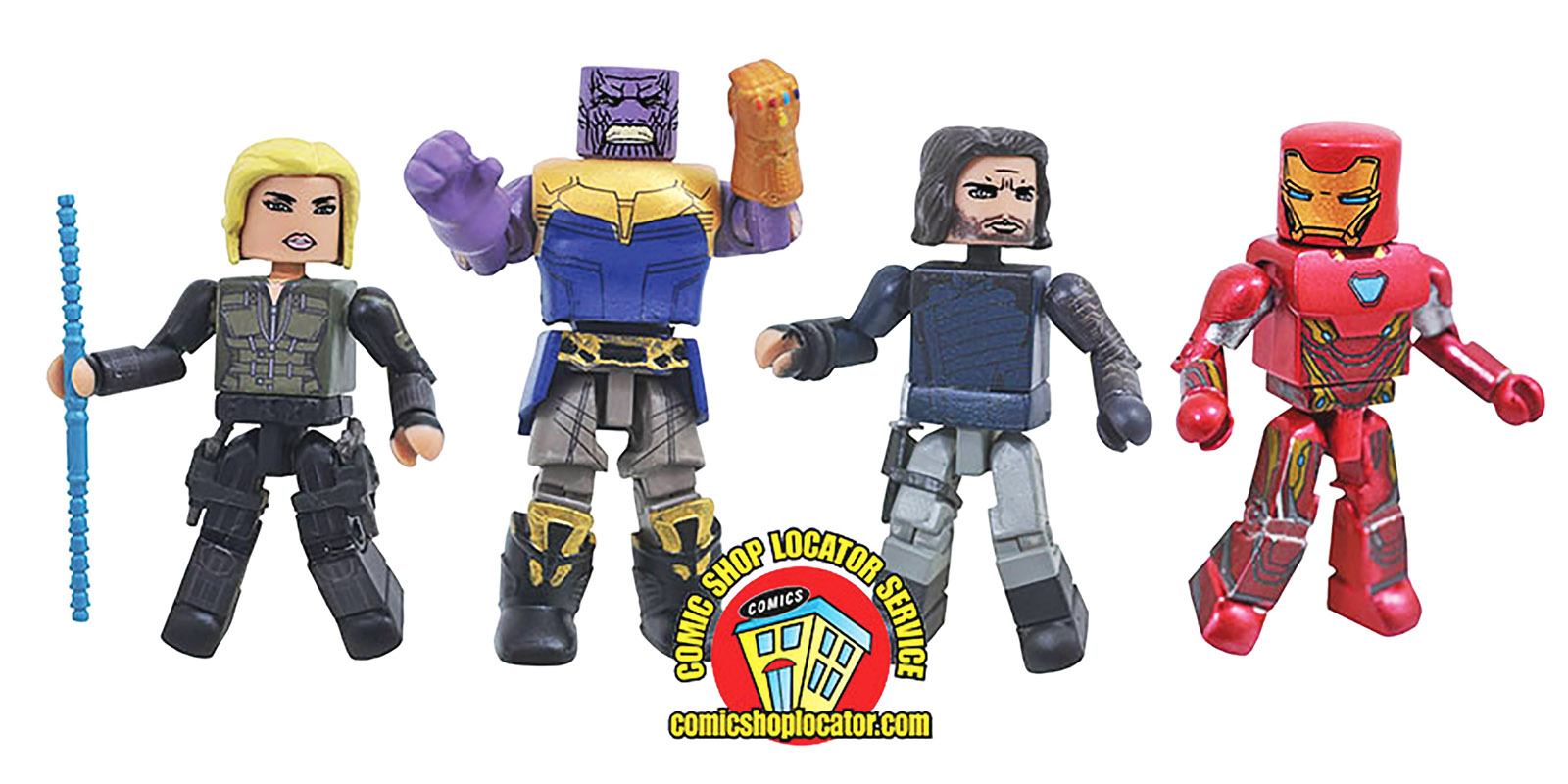 Avengers Infinity War Minimates Box Set