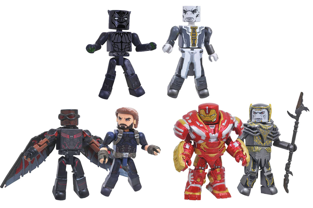Infinity War Toys R Us Minimates Series 2 Full Set of 6