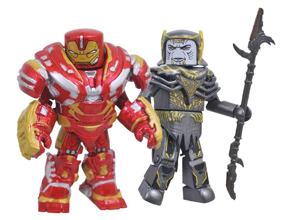 Hulkbuster & Corvus Glaive Infinity War Minimates