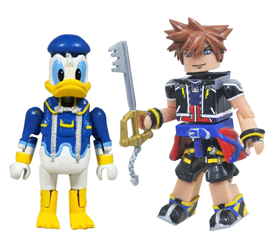 Nightmare Before Christmas Sora.Sora Donald Kingdom Hearts Minimates