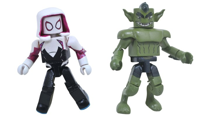 Spider-Gwen & The Jackal Walgreens Minimates