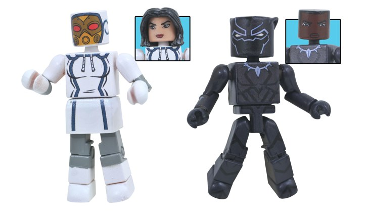 Black Panther & Madame Masque Walgreens Minimates