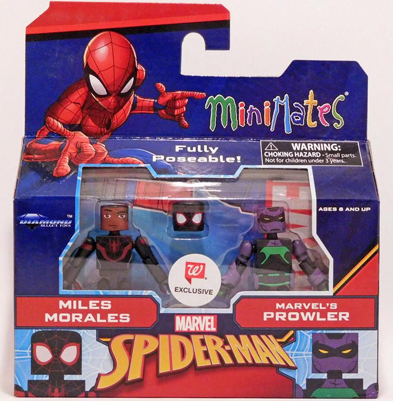 Miles Morales & Prowler Walgreens Marvel Minimates