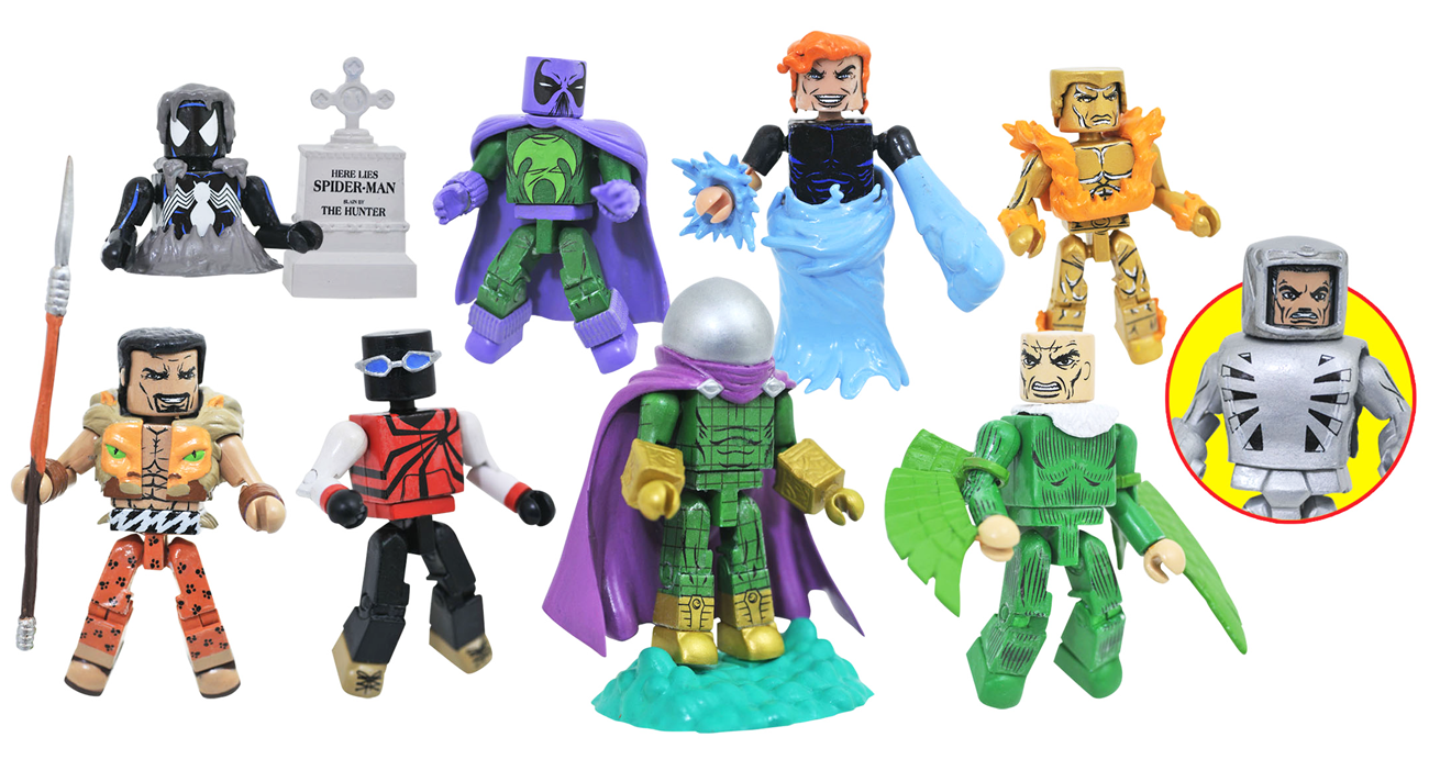 Marvel Minimates Series 77: Spider-Man Friends & Foes Full Set of 8