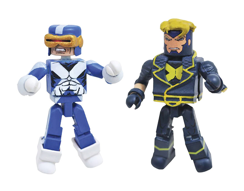 Cyclops & Havok Minimates