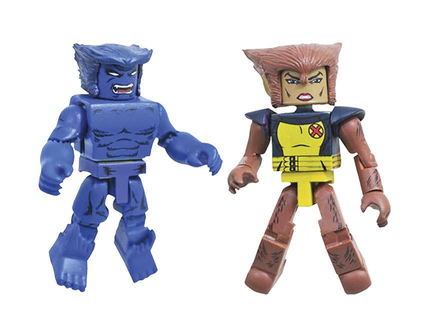 Beast & Wolfsbane Minimates