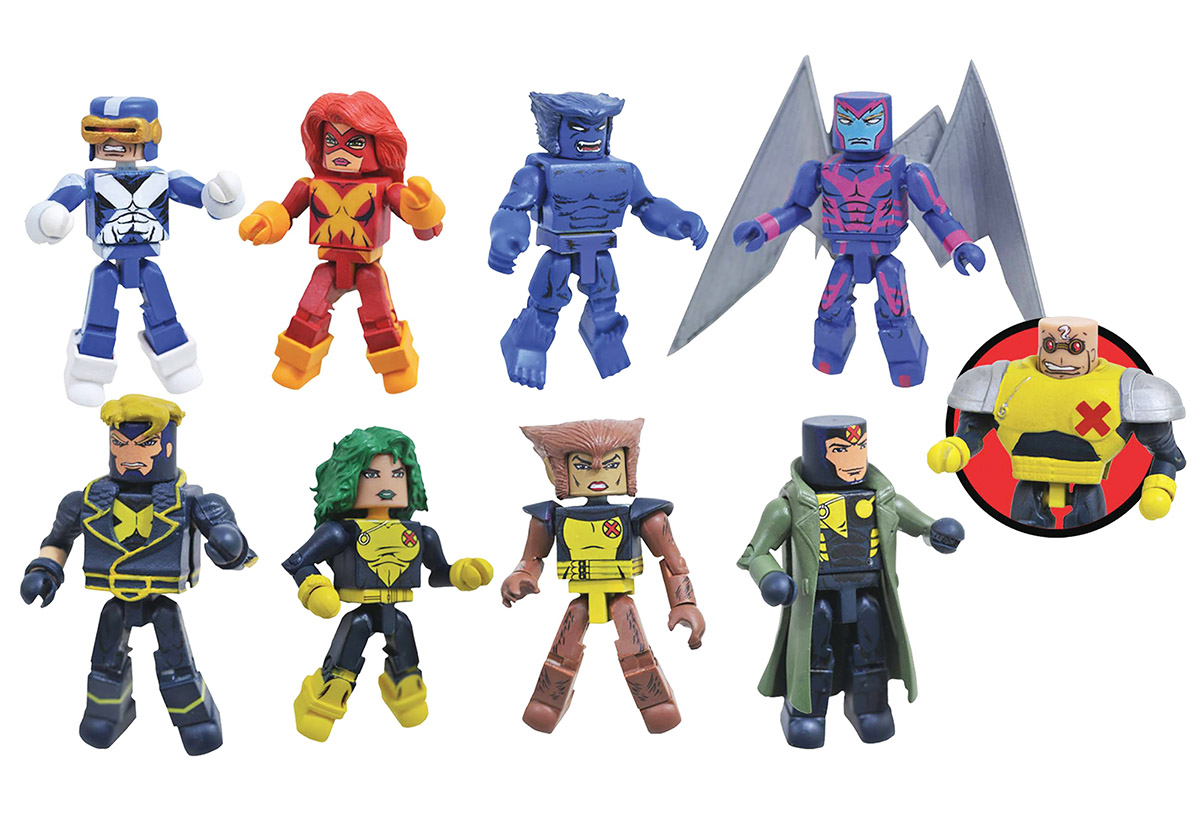 Marvel Minimates Series 78: X-Factor Full Set of 8