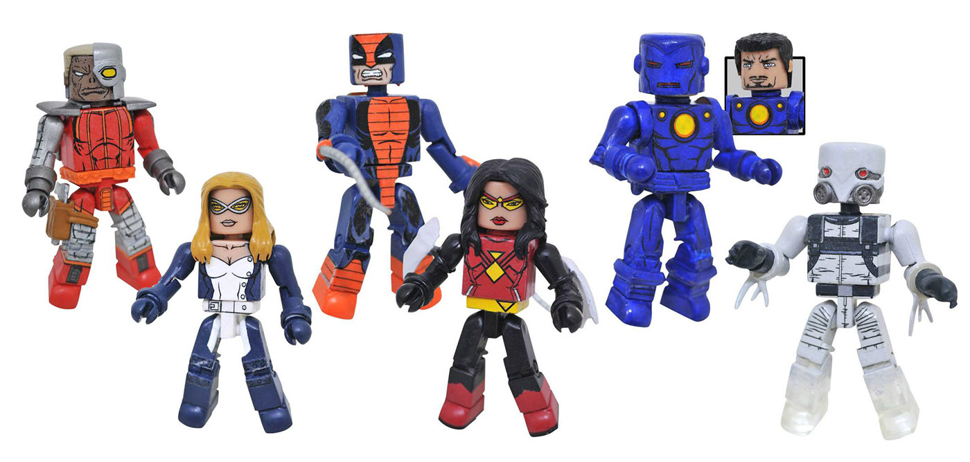 Marvel Minimates Series 80: Espionage Full Set of 6
