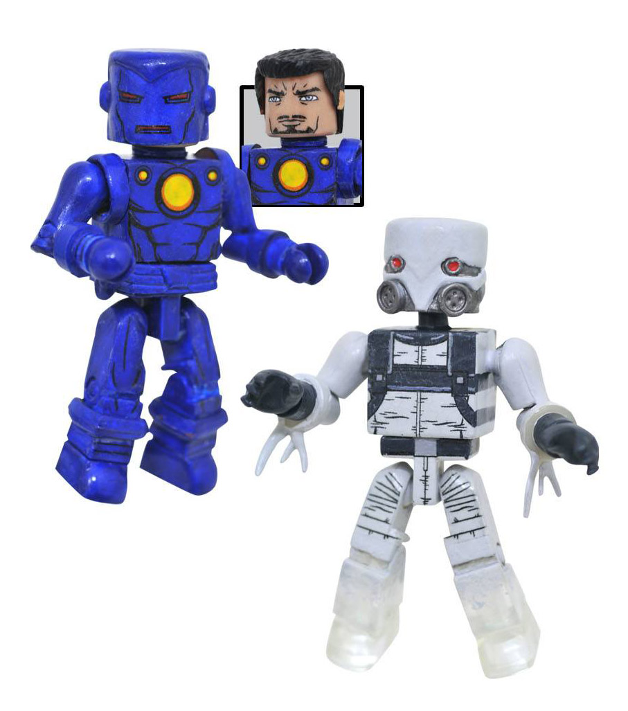 Stealth Iron Man & Ghost Minimates