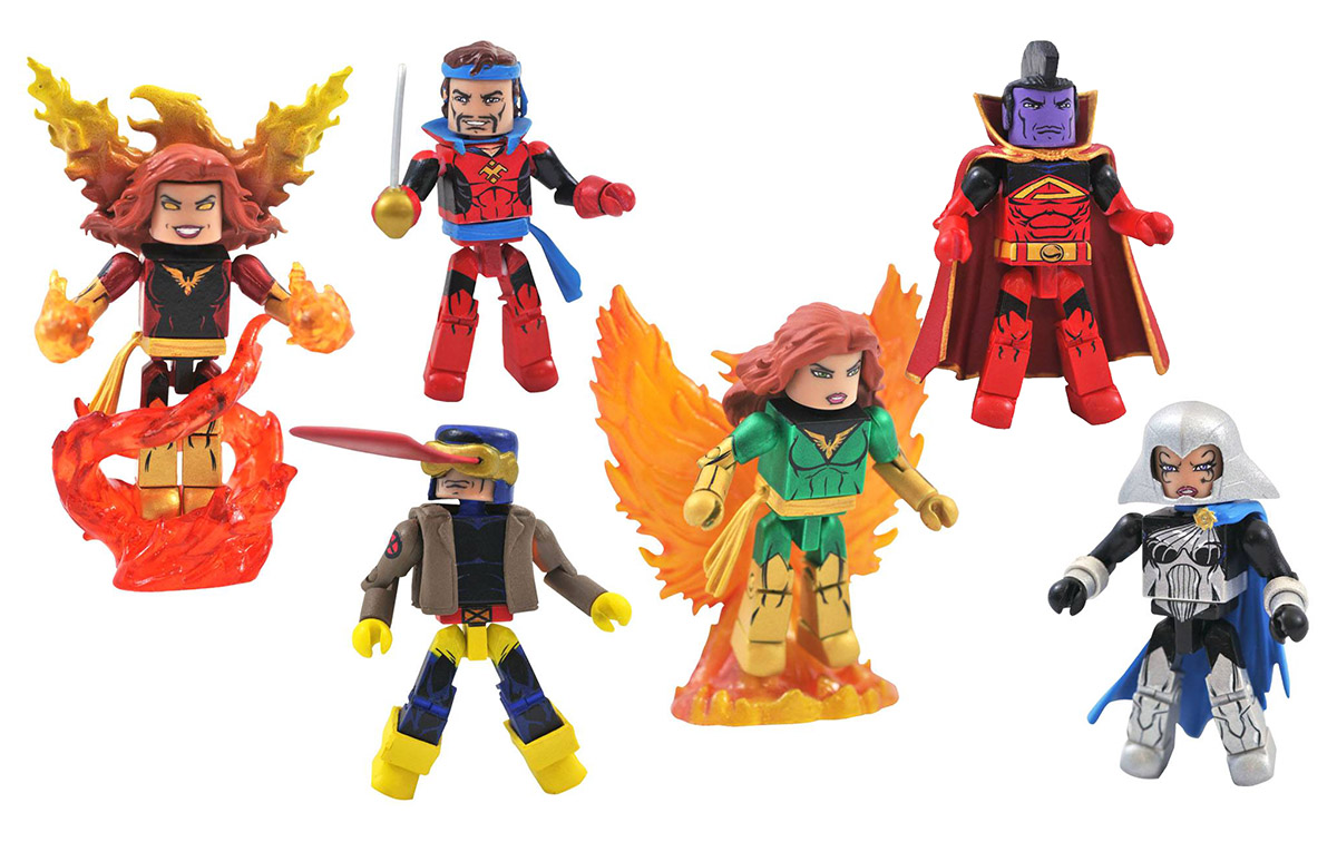 Marvel Minimates Series 81: Dark Phoenix Saga Custom Case of 12