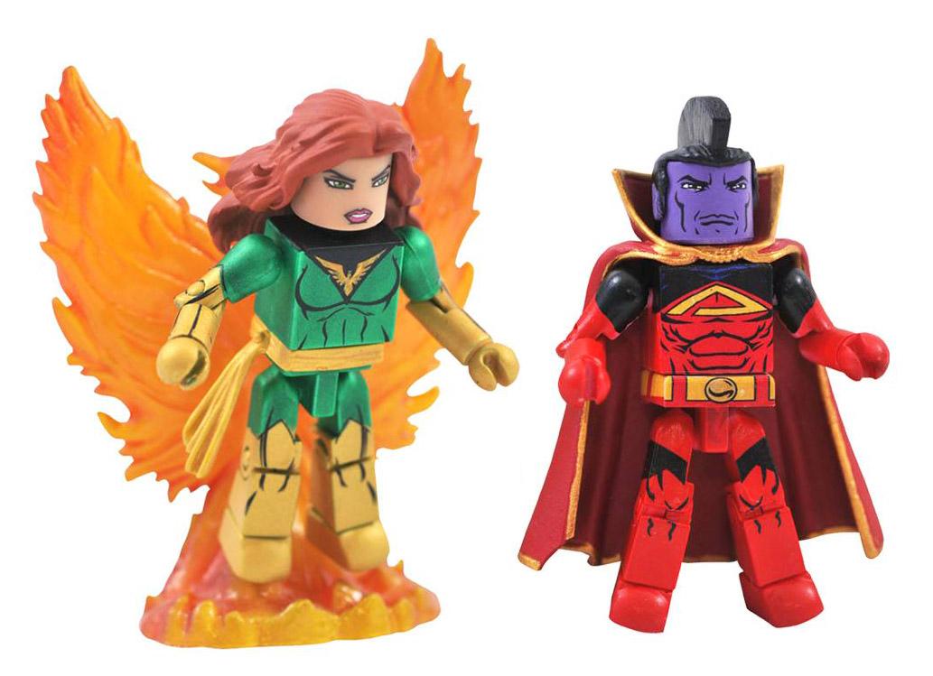 Phoenix & Gladiator Marvel Minimates