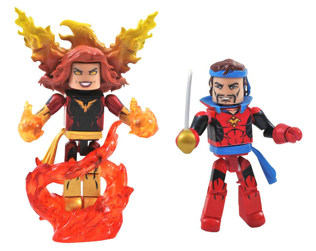 Dark Phoenix & Corsair Marvel Minimates