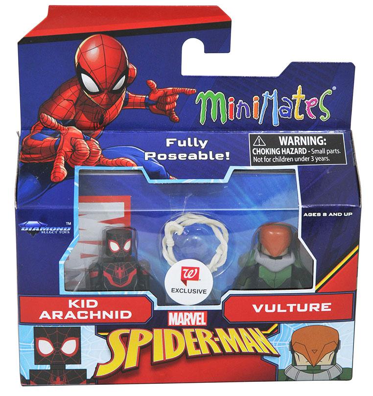 Kid Arachnid & Vulture Walgreens Minimates