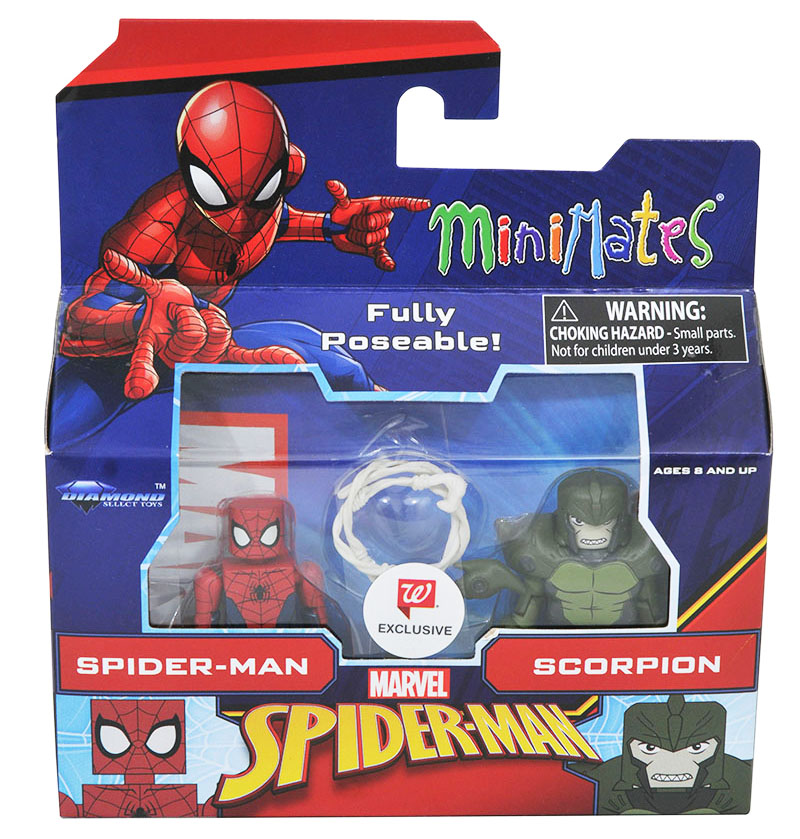 Spider-Man & Scorpion Walgreens Minimates