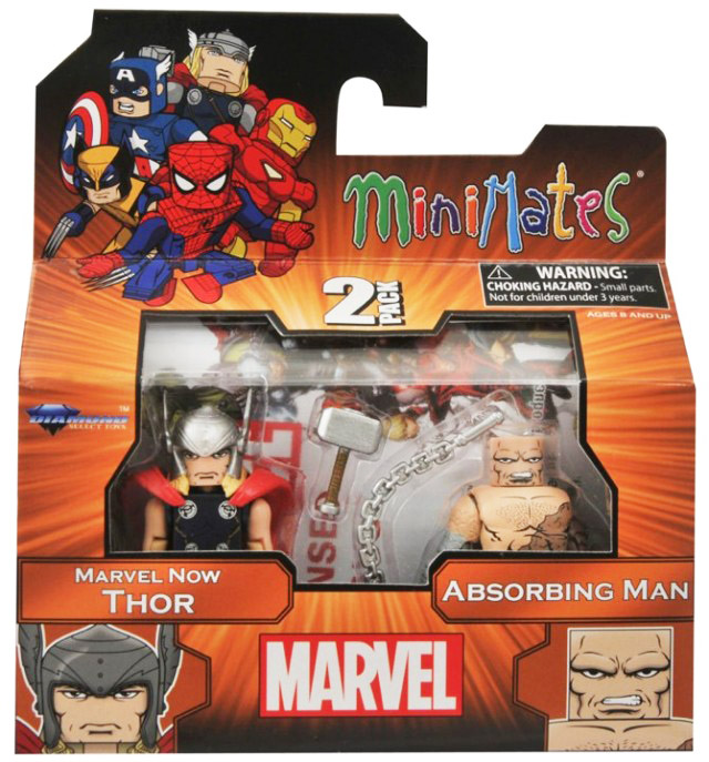 Marvel Now Thor & Absorbing Man TRU Exclusive Minimates