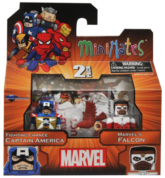 Fighting Chance Captain America & Falcon TRU Exclusive Minimates