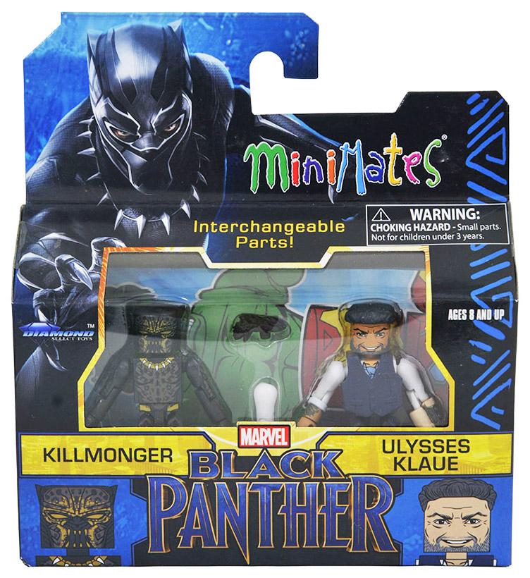 Killmonger & Ulysses Klaue Walgreens Minimates