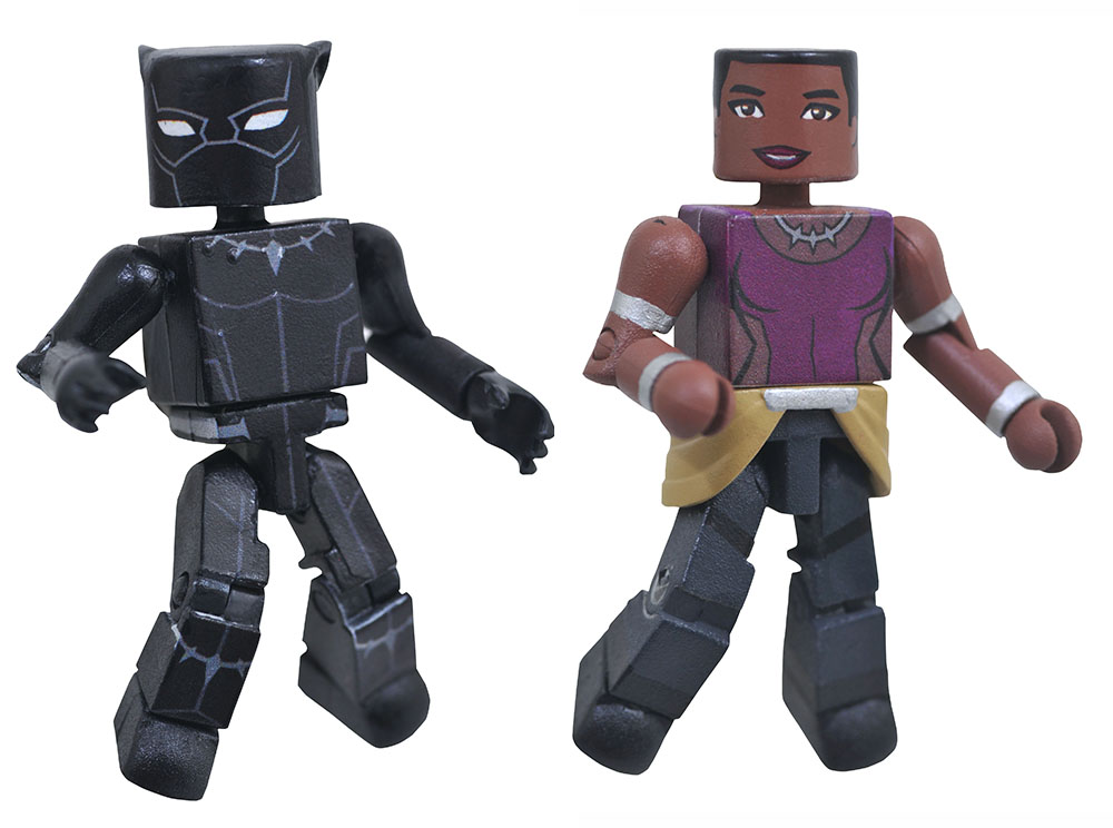 Black Panther & Shuri Walgreens Marvel Minimates